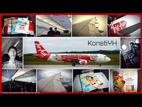 AirAsia Flight Review : AK5206 Kuala Lumpur to Kuching by KonstiYH