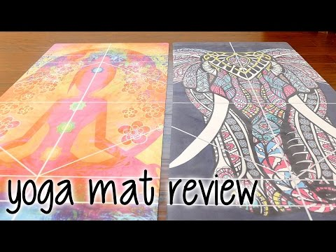 Yoga Mat Review: Nirvana | Non-Toxic Micro Suede Tree Rubber Mat with Alignment Lines