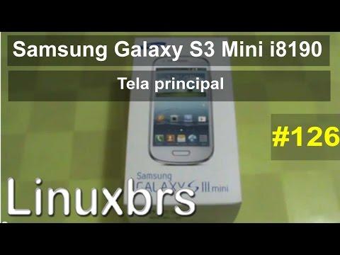 Samsung Galaxy S3 Mini, Tab P6210 e Player 4.2 - Review - Tela principal - PT-BR
