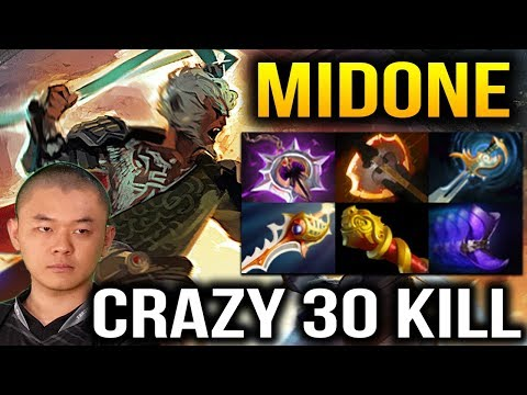 Midone Monkey King 30 Kills with Divine Rapier Dota 2 7.07c