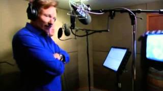 """Conan Travels - """"Conan & Andy Dub Ghost in the Shell"""" - 7/24/09"""