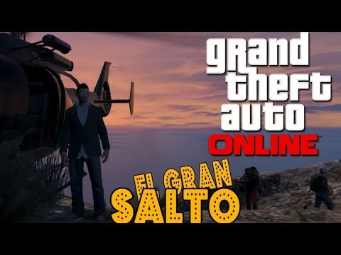 EL GRAN SALTO!! - GTA Online con Willy y Vegetta
