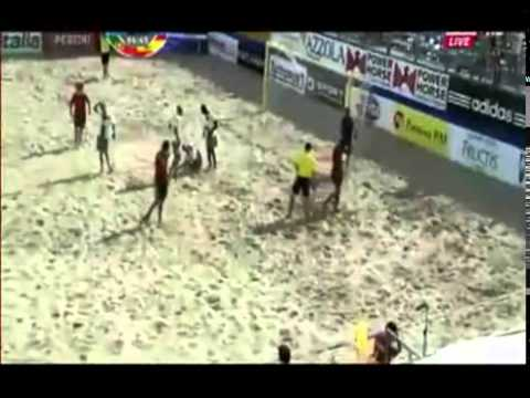 Brutal Knee Injury In Soccer Match
