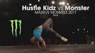 Hustle Kidz vs Monster - Finał Massive Monkees Day 2017
