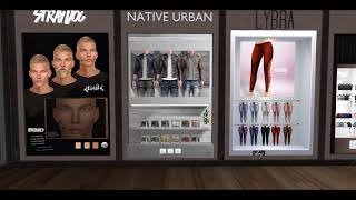 |New Skin & Shape| Shopping @ Uber  [ S E C O N D  L I F E ]