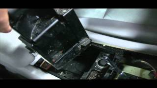 BENZWERKS C-CLASS CENTER CONSOLE REMOVAL PART 1 OF 2
