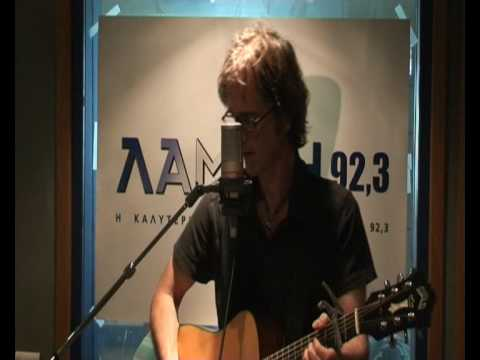 Dan Wilson - Breathless Live for Lampsi 92,3 - www.lampsifm.com