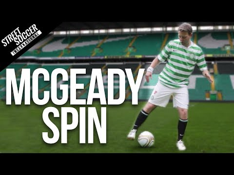Learn McGeady Spin / Turn - Football Soccer Skills