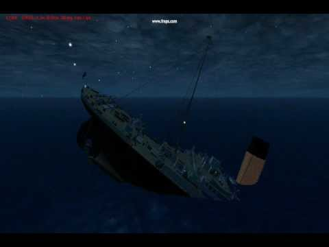 Virtual Sailor  RMS Titanic Sinking