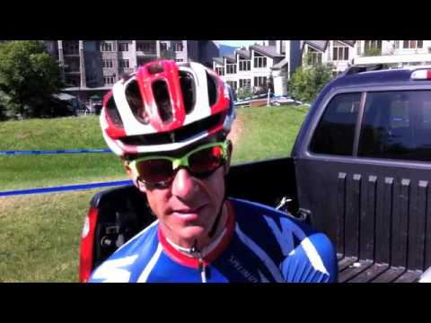 2011 Windham WC Men XC - Todd Wells Interview