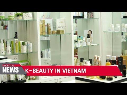 Korean beauty trend in Vietnam