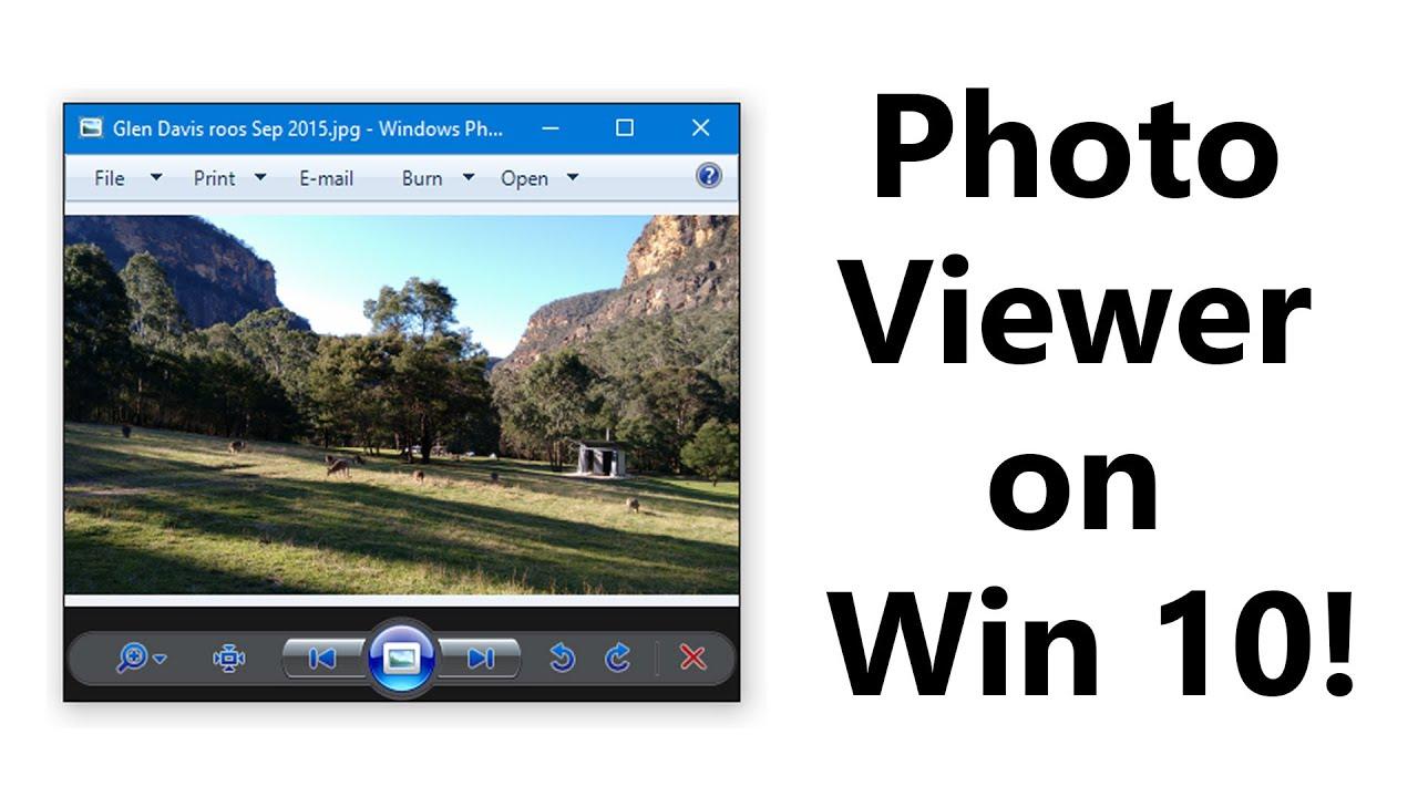 Fix Windows photo viewer can t open
