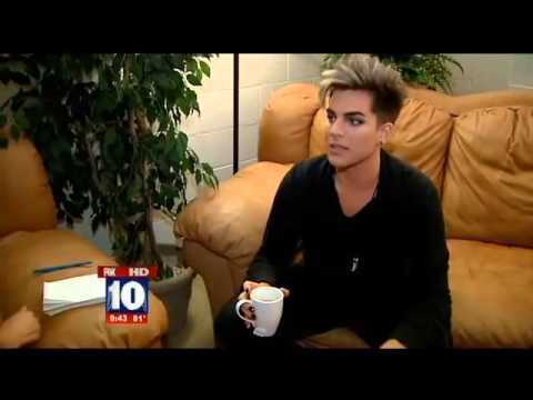 Adam Lambert interview -  Phoenix, AZ