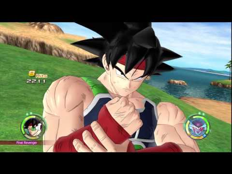 Dragon Ball: Raging Blast 2 - Bardock VS Frieza