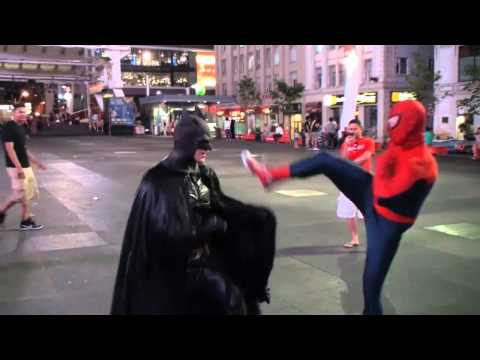 Spider-Man VS Batman in Toronto TRAILER