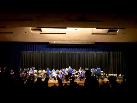 Lombardi Middle School Spring Band Concert 2013-14