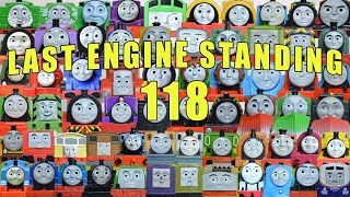 EPIC 64 Trains Last Engine Standing 118: Thomas and Friends TrackMaster