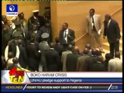 Boko Haram Crisis:UN/AU pledge support to Nigeria
