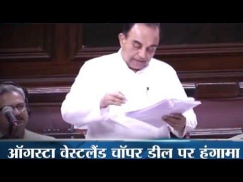 AgustaWestland scam: What happened in Rajya Sabha when Subramanian Swamy named Sonia Gandhi