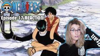 LUFFY vs KURO FINAL BATTLE! ONE PIECE Episode 17 REACTION!