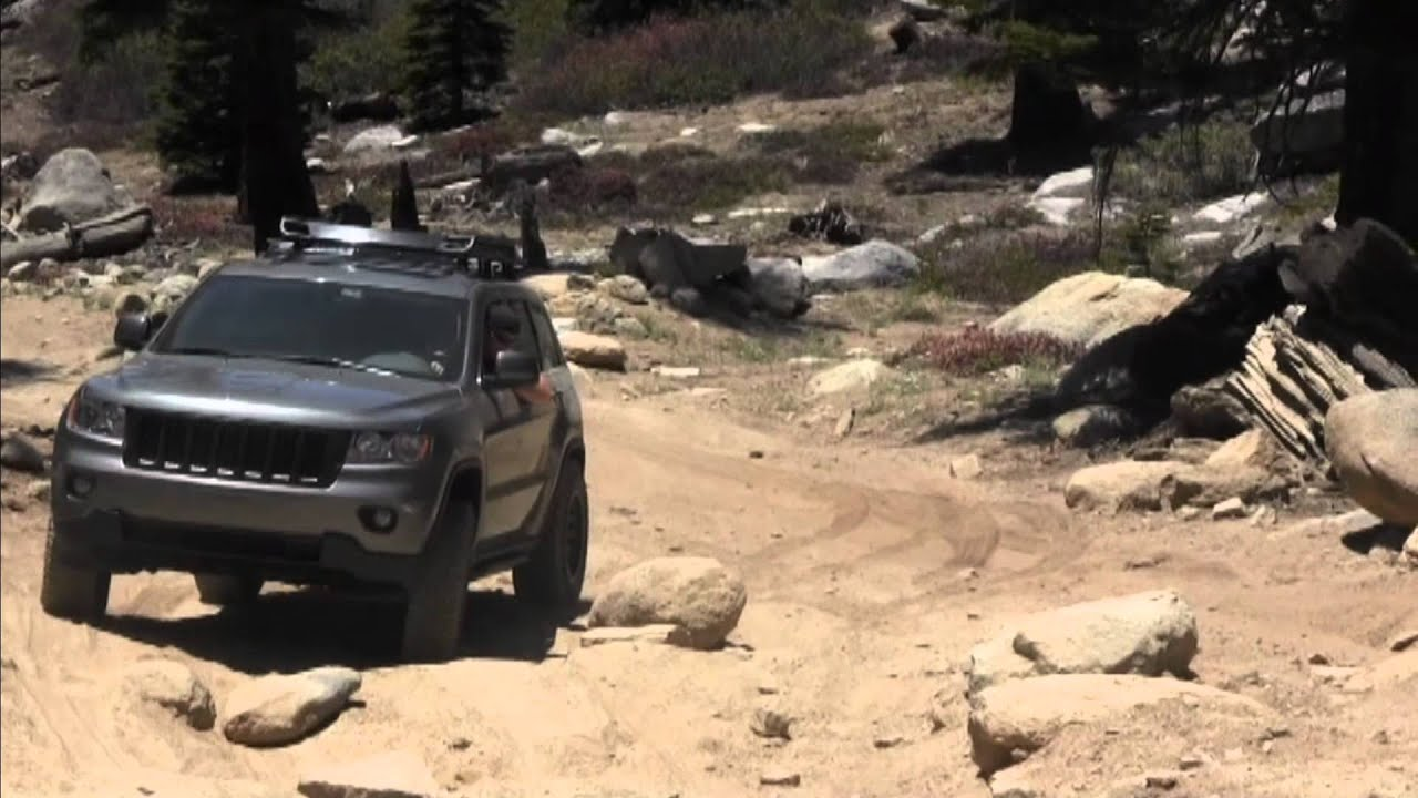 Jeep WK2 (Mall Crawler) @ South Lake Tahoe - Genoa Trail - Off Road ...