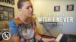 Joey Djia Wish I Never Raw Piano Song Writing