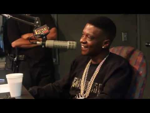 Lil' Boosie On Ipower 92! video