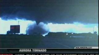 Aurora Tornado - June 17, 2009 - News Clips