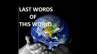 Last Words of this World |Powerful Reminder| By Mufti Menk