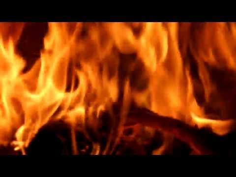 Best 4 hours fireplace HD video, romatic relaxing fire with natural sound