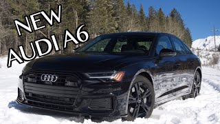 2019 Audi A6 Review: Stunning Tech from Audi's Flagships!