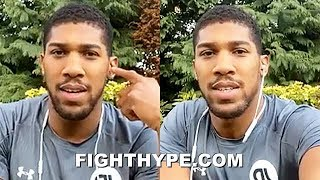 "ANTHONY JOSHUA GOES LIVE ON MIKE TYSON BEATING ALI, THE ""BEST"" BOXER, REDEMPTION OVER RUIZ, & MORE"