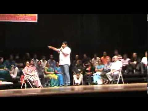 Gopinath Inspirational Speechs On Us Tamil Peoples 2013 video
