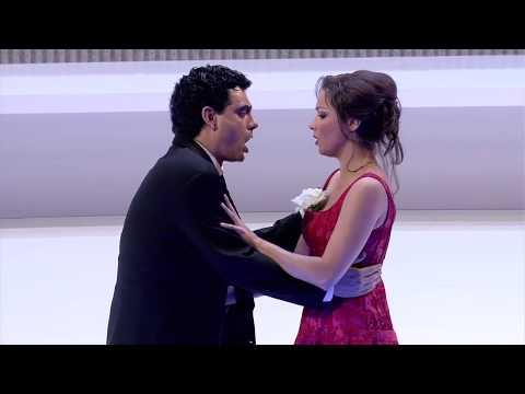 La Traviata Netrebko Villazón Hampson (HD 720p) with Ru and En subtitles