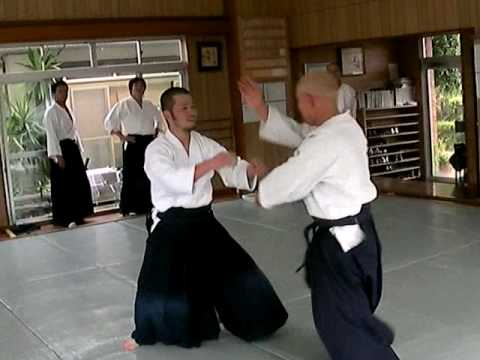 和歌山武産館 Aikido Technique  against Punch  No.3 Image 1