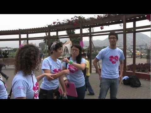 SAVE THE WORLD #4 The neighborhood of Rimac in Lima, Peru