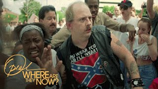 An African-American Woman Who Shielded a Man in a Confederate Flag Shirt | Where Are They Now | OWN