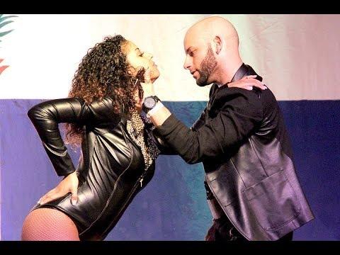 Ataca y la Alemana HD en Bachatu 2014 - Coreografia: Odio