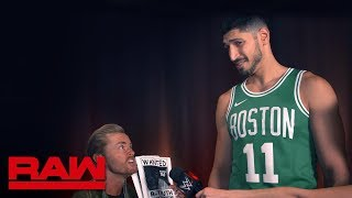 Enes Kanter reflects on his reign as 24/7 Champion: Raw Exclusive, Sept. 9, 2019