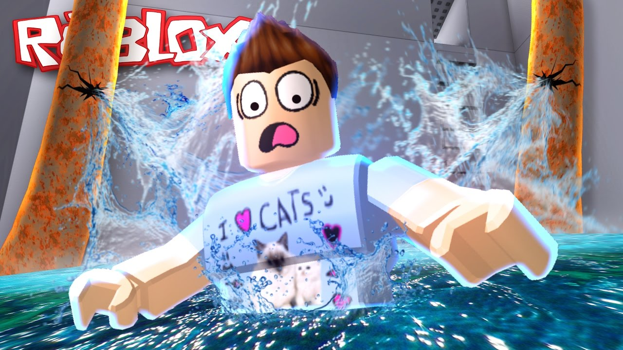 Roblox Adventures / Escape the Flood Obby / The Water Is EVIL!!