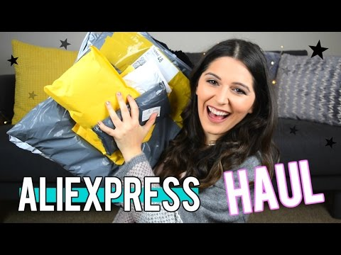 Haul/Unboxing Aliexpress 2017 - COMPRITAS DE CHINA! Steph T