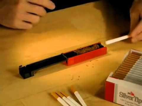 Как сделать станок для сигарет 708