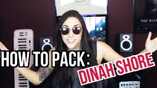 HOW TO PACK FOR DINAH SHORE WEEKEND