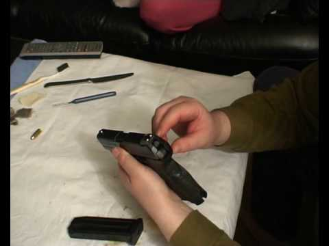 HK P30. small hands. V1 trigger group. issues and lubrication