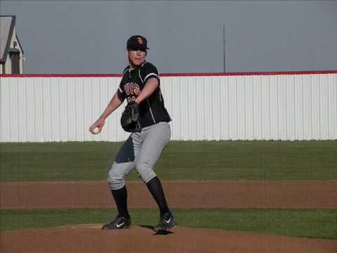 Jake West from Tonkawa, Oklahoma Pitching 2009