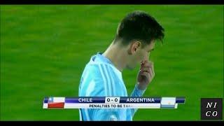 Copa América 2015 FINAL - Chile vs Argentina / Penalty shootout