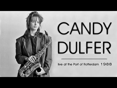 Candy Dulfer - Rock Over Europe At The Port Of Rotterdam 1988