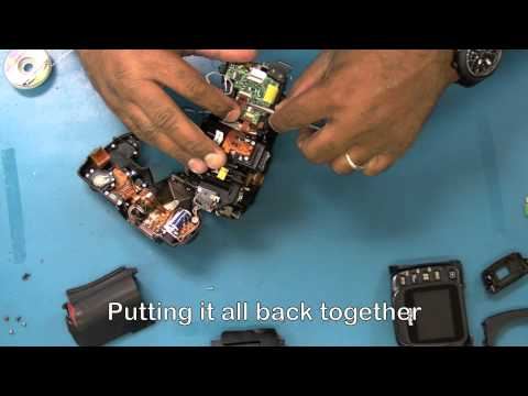 Nikon D50 Repair: Shutter & Aperture Control Unit Replacement