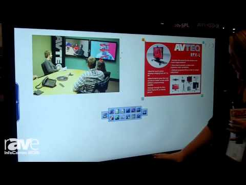 InfoComm 2015: AVTEQ Details RPX-L Cart for Touch Panel Display
