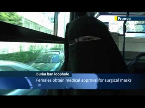 French Muslim women find creative way to evade burqa ban by claiming veils are for medical purposes